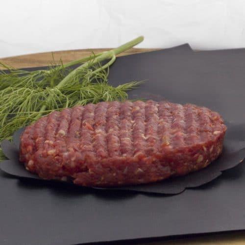 Rundvlees hamburger