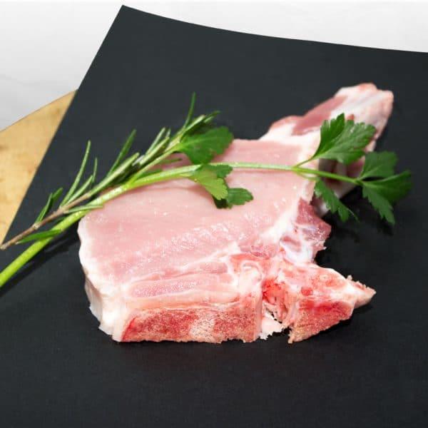 Ribkotelet met been (225 gram)