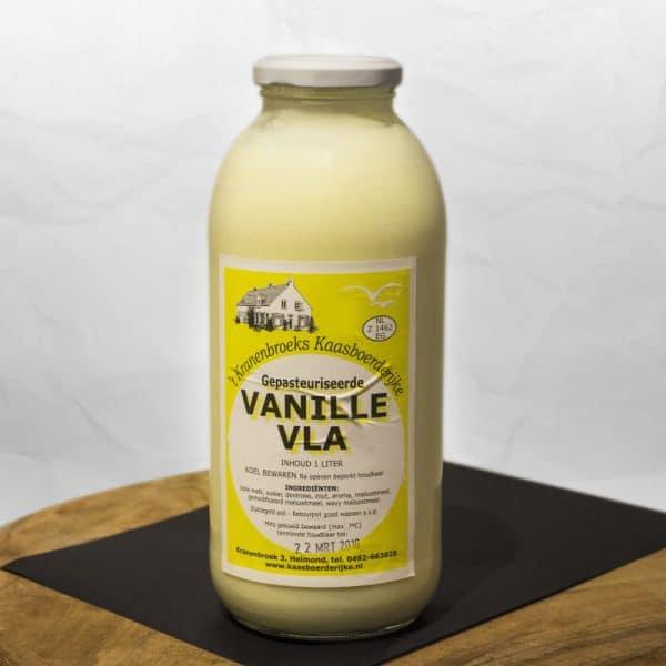Vanille vla van 't Kranenbroeks Kaasboerderijke